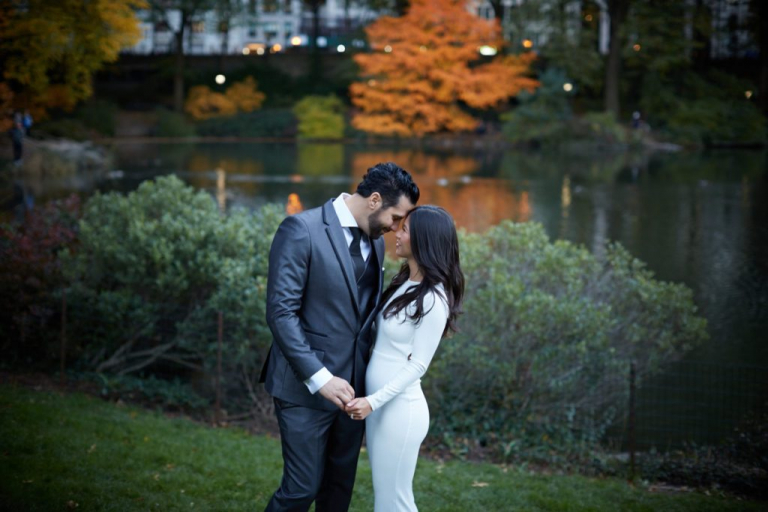 A Central Park Wedding: Jenn and Michael's New York Elopement