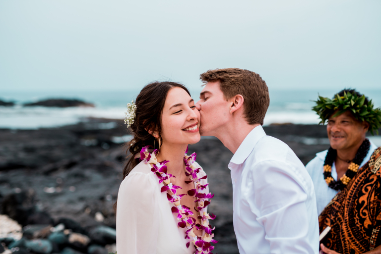 Big Island Adventure: Fiona and Peter's Beach Elopement