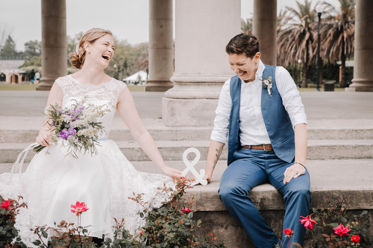 Tiffany and Crystal: A Stunning New Orleans Elopement in City Park