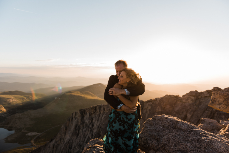 A Special Place: Dawn & Kevin's Mt. Evans Sunrise Ceremony