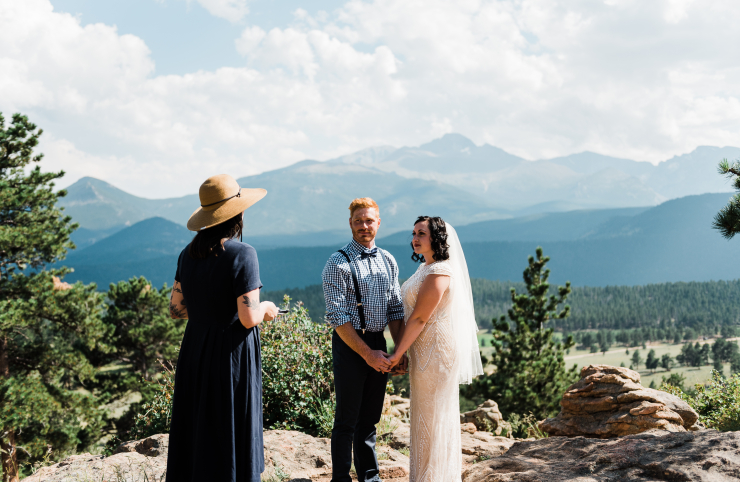 An Adventurous Mountain Elopement: Katie + Corey