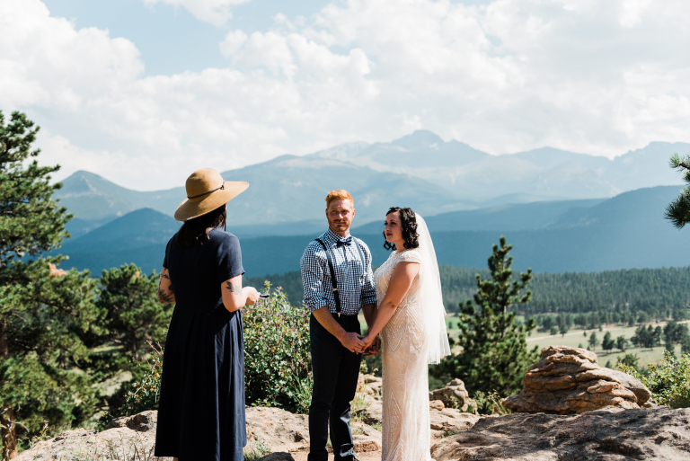 An Adventurous Mountain Elopement: Katie + Corey