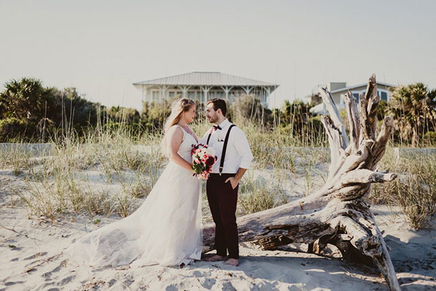 Elope Wedding Idea: Tybee Island, Georgia