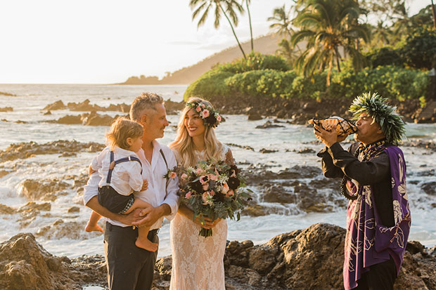 Eloping Idea: Makena Cove, Maui, Hawaii