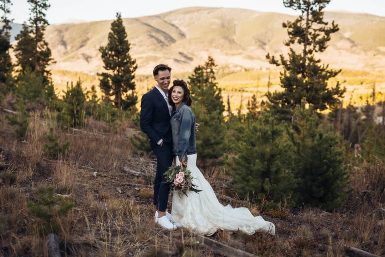 Ashton & Jordan's Intimate and Dreamy Sapphire Point Elopement