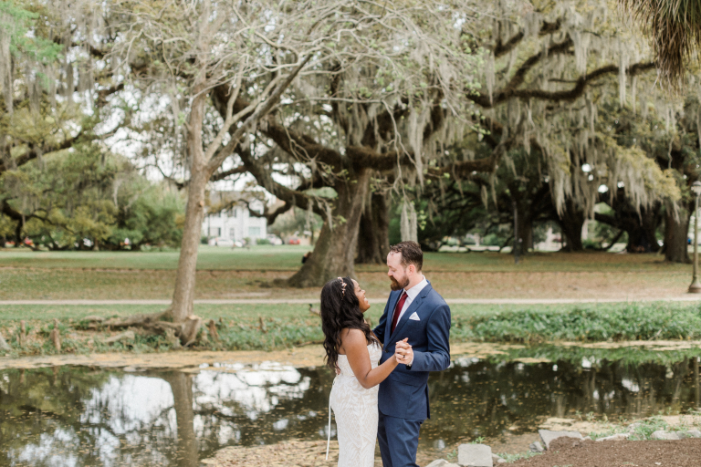 Inshaallah & Matt's Romantic New Orleans Elopement