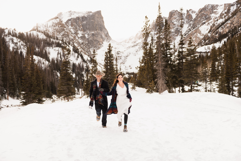 Lindsey & Jack's Playful Rocky Mountain Elopement Ceremony