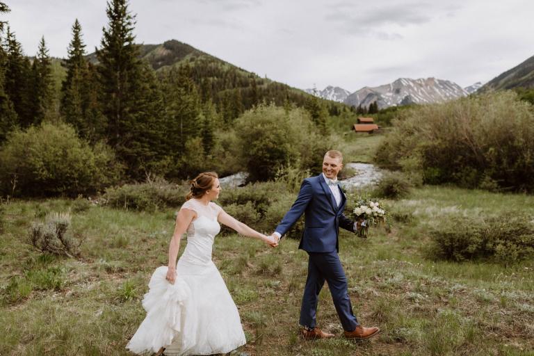 Adara & Landon's Gorgeous Ghost Town Colorado Elopement