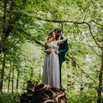 Mandi & Thomas' Gorgeous Intimate Smoky Mountain Elopement