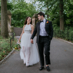 Claudia & Isaac's Impromptu New York City Elopement