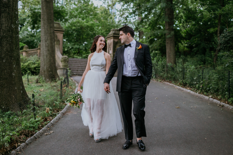 Claudia & Isaac's Impromptu New York Elopement in Central Park