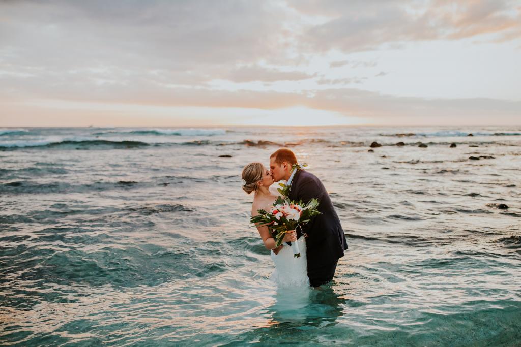 Kat & Daniel's Dreamy Hawaiian Elopement