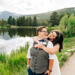 Jackie & Kylie's Intimate Springtime Sprague Lake Elopement