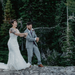 Diana & Alex's Playful Mountaintop Lake Tahoe Elopement