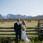 Nichole and Andrew's Intimate Idaho Wedding at Redfish Lake