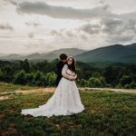 Kayla and Austin's Dreamy Asheville Mountain Ceremony