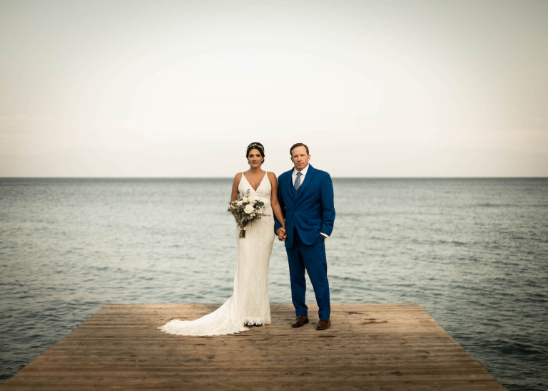 Lindsay & Andrew's Meaningful Lake Tahoe Ceremony