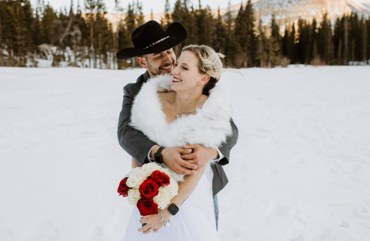 Sabrina + Chris's Beautiful Bear Lake Colorado Elopement