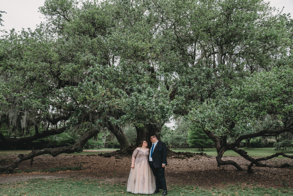 Misty & Colby's New Orleans Elopement at the Tree of Life