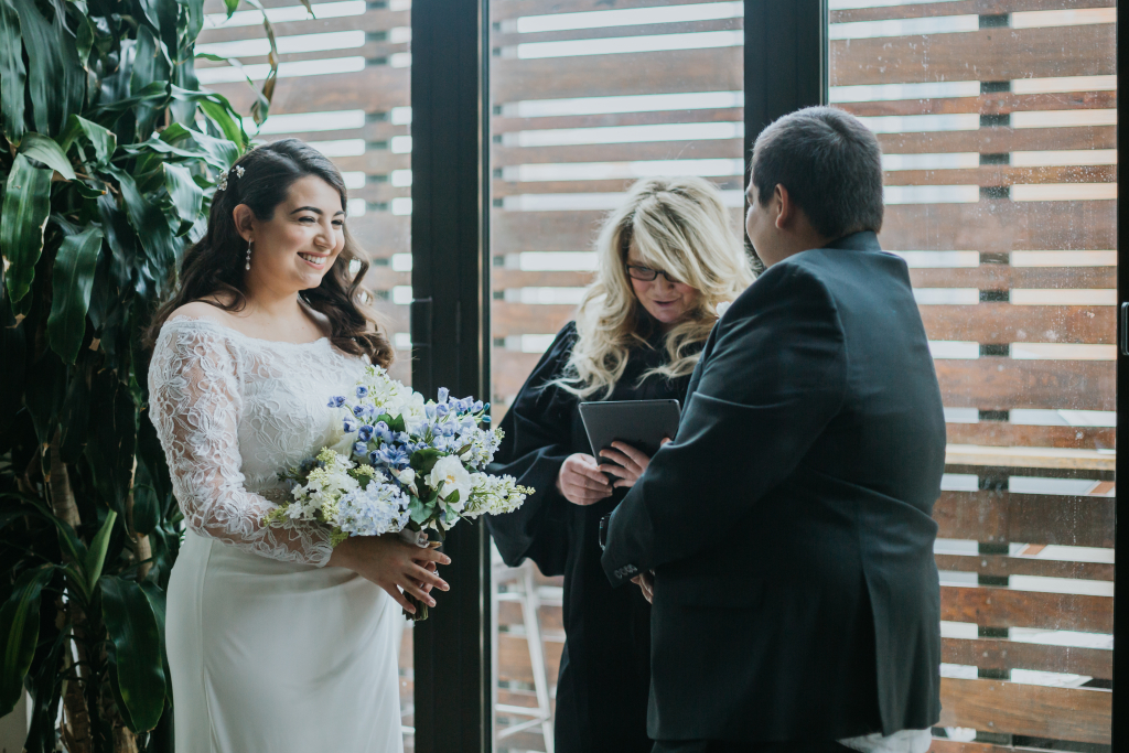 A Rooftop Elopement at MADE Hotel in New York City for Ursula & Daniel