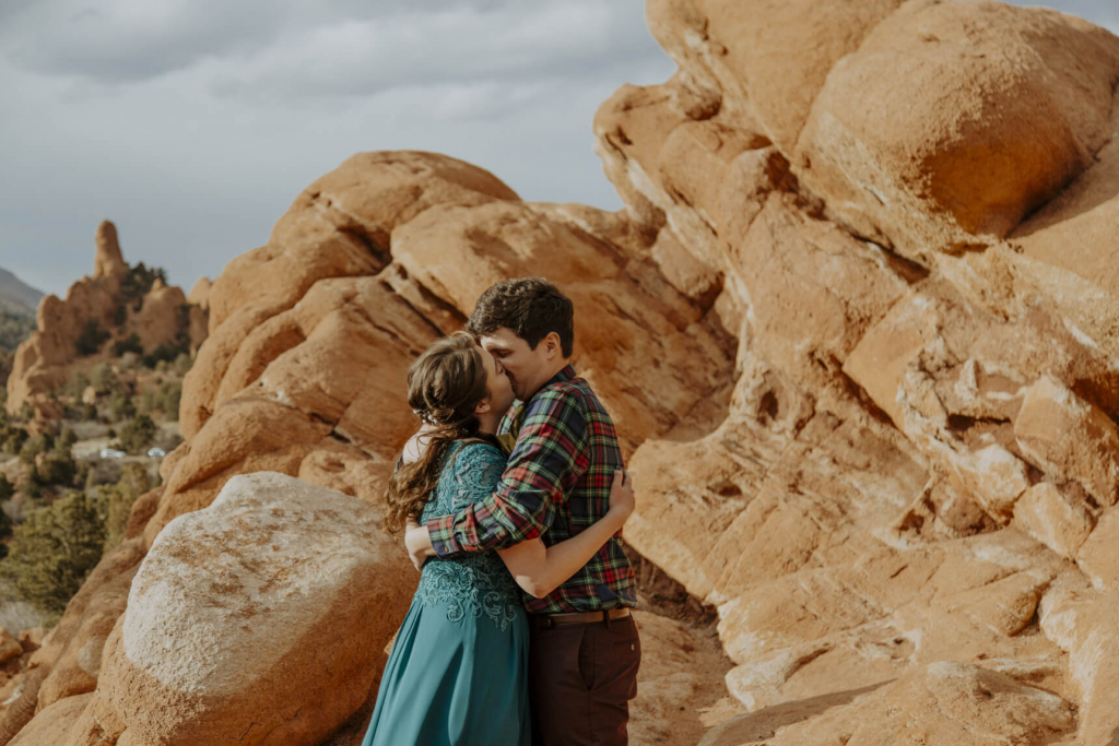 Jessica & Tyler's Magical Garden of the Gods Elopement in Colorado