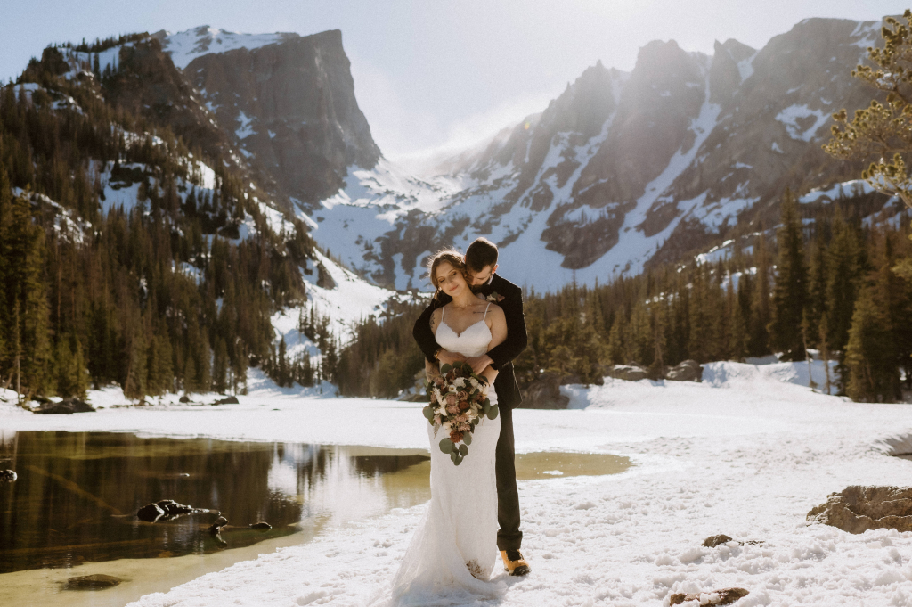 Monica & Kyle's Forever Elopement at 3M Curve in Colorado