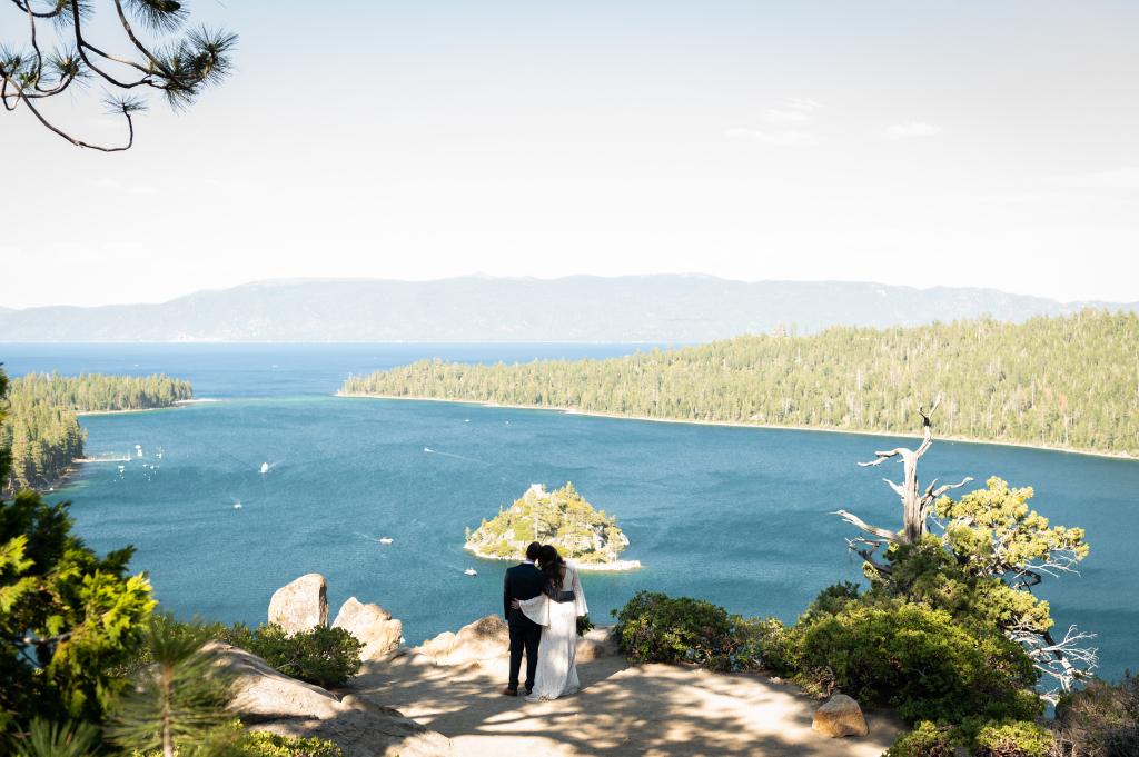 A Lake Tahoe Elopement for Kimberly & Maxime at Emerald Bay